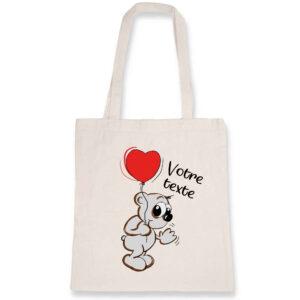 Totebag Saint Valentin Personnalisable
