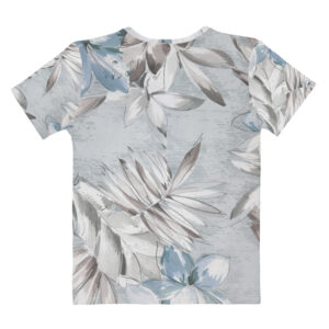 Soft Tropical T-shirt à Col en V pour Femme