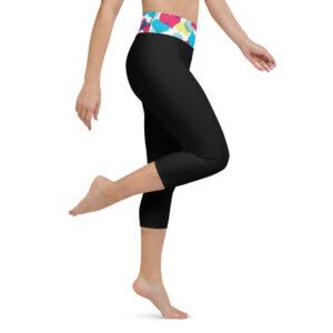 Pluie de Cœurs Legging de Yoga Court