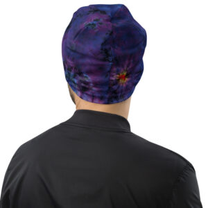 Bonnet Tie Dye Violet