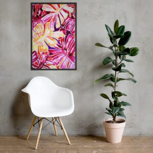Poster Monstera Tropical