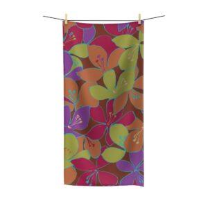 Beach Towel Floral