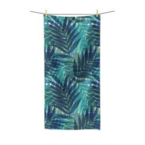 Beach Towel Monstera Palmier