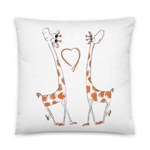 Coussin Girafes