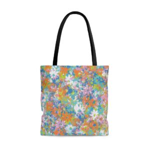 Tote Bag Pluie de Petites Fleurs
