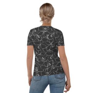 Floral T-shirt Femme