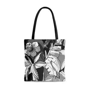 Tote Bag Hibiscus N-B