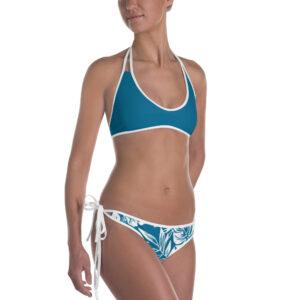 Bikini Tropical blanc