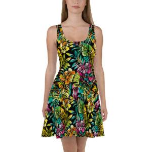 Robe d'été Tropical couleurs